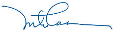 Mike Casson Signature